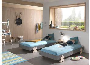 Modulo Grey Puzzle Bedroom