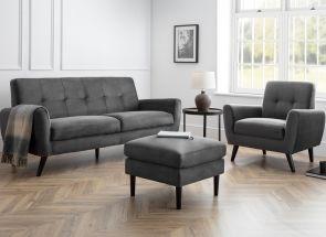 Monza Grey Velvet Room