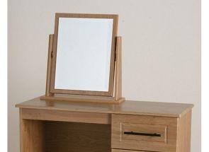 Mya Oak Single Mirror