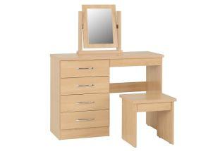 Nevada Sonoma Oak Bedroom Set - 1