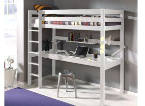 Pino White Sleeper W/Shelf