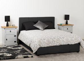 Prado Black Storage Bed Closed Room