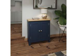 RA Blue Two Door Small Sideboard - room