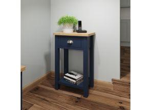 RA Blue Telephone Table - roomset