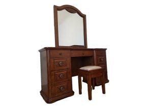 Roma Dressing Table, Stool & Mirror