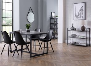 Staten Table & Kari Black Dining Room
