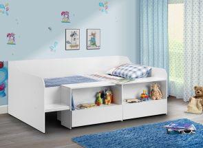 Stella White Low Sleeper Room