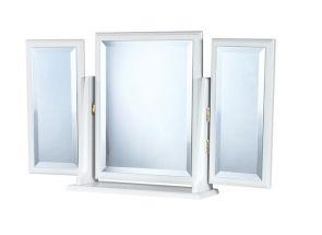 Tara White Triple Mirror