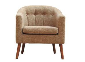 Tessa Rome Brown Tub Chair