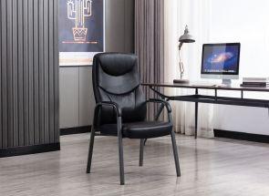 Travis Black Orthopedic Chair - 1