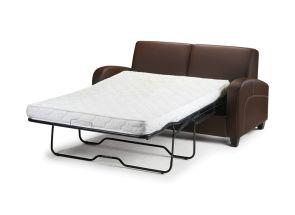 Vivo Chestnut Sofa Bed - open