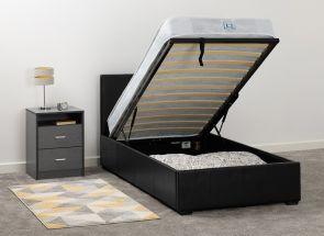 Waverly Black Storage Bed Room
