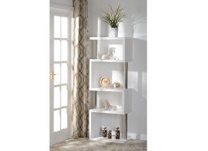 Charisma White 5 Shelf Room